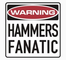 Hammers Fanatic Sign by SignShop