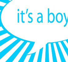 it's a boy by maydaze