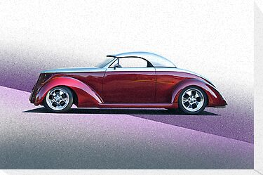 1937 Ford Roadster - Studio Profile by DaveKoontz