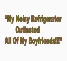 Noisy Refrigerator, t-shirt by Carolyn Clark