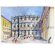 Palazzi Ducale a Genova- color version Poster