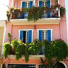 The pink house by Maria1606