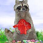 Valentine Raccoon Bandit by Gravityx9