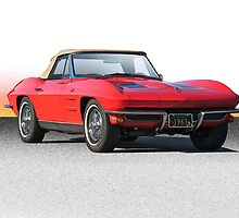 1963 Corvette Roadster by DaveKoontz