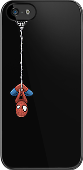 Spidey - iPhone 5 Version - Black by Yaroi