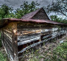 HDR - Lurking Barn by Doug Greenwald