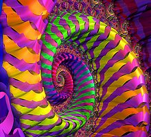 Coloured Spiral wheel by designed2dazzle