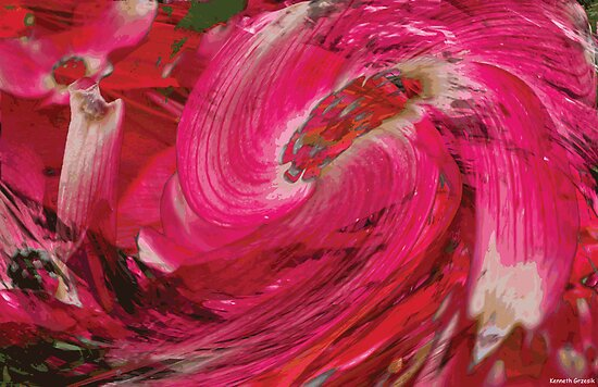 Rhythm's of Spring Digital Image 54 by Kenneth Grzesik