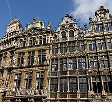 Postcard from Brussels  by Georgia Mizuleva