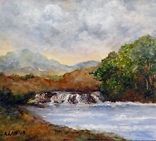 The River Foy Ireland by Mary  Lawson