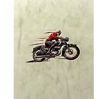 VINTAGE MOTORCYCLE ART Photographic Print