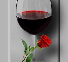 Ƹ̴Ӂ̴Ʒ WINE GLASS WITH ROSE Ƹ̴Ӂ̴Ʒ by ✿✿ Bonita ✿✿ ђєℓℓσ