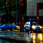 Rainy Melbourne by Vince Russell