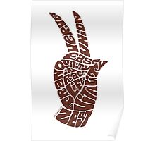 Life Force Hand in Milk Chocolate Poster