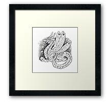 Dragonly Framed Print