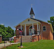 Millville Presbyterian Church by James Brotherton