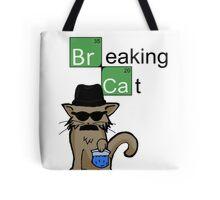 Breaking Cat  Tote Bag