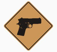 Pistol Sign	 by SignShop