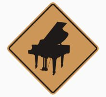 Piano Sign by SignShop