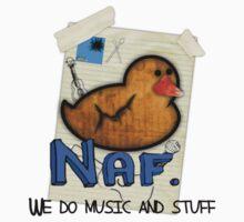 Naf. Band T-shirt by SpiderDann