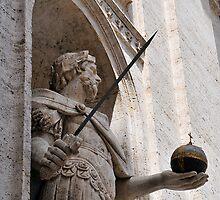 Statue, Chiesa San Luigi dei Francesi, Rome, Italy by buttonpresser