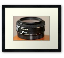 Canon EF 40mm f/2.8 STM Framed Print