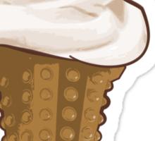 Dalek Ice-Cream a Summer Time Lord Treat Sticker