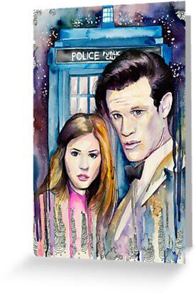 Doctor Who by Slaveika Aladjova