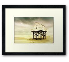 Beachcombers Museum Framed Print