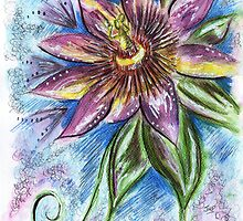 Passiflora by Jenna Michelle Pink