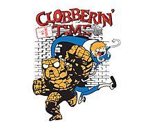 Clobberin' Time Photographic Print