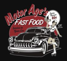 Motor Age Fast Food by ryankrupnick