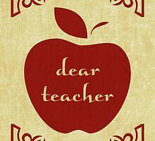 dear teacher by maydaze