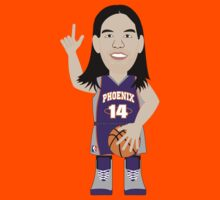 NBAToon of Luis Scola, player of Phoenix Suns by D4RK0
