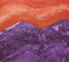 Mountain Majesty original painting by CrowRisingMedia