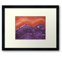 Mountain Majesty original painting Framed Print