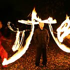 Fire Juggling by Christopher  Evans