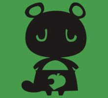Tom Nook's Silhouette Black - Animal Crossing by lindseyyo