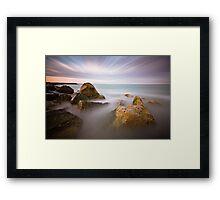 Eastbourne 10 minute sunset Framed Print