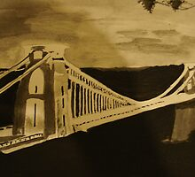 Bristol Suspension Bridge by Colin  Laing