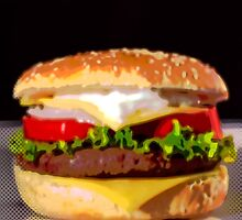 burger by angeliana
