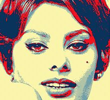 Sophia Loren by Art Cinema Gallery
