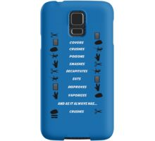 Rock Paper Scissors Lizard Spock Samsung Galaxy Case/Skin