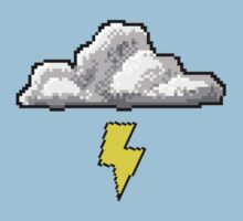 Pixel Cloud Tee by hautelit