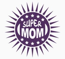 Super Mom Logo T-Shirt