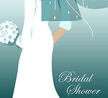 bridal shower invites by maydaze