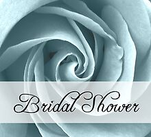 bridal shower rose by maydaze