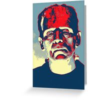 Boris Karloff in The Bride of Frankenstein Greeting Card