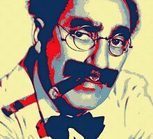 Groucho Marx by Art Cinema Gallery