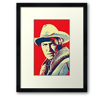 James Stewart in The Far Country Framed Print
